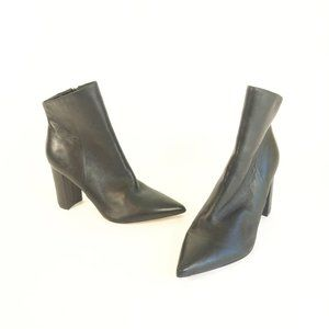Marc Fisher LTD Unique Pointed Toe Ankle Booties 9